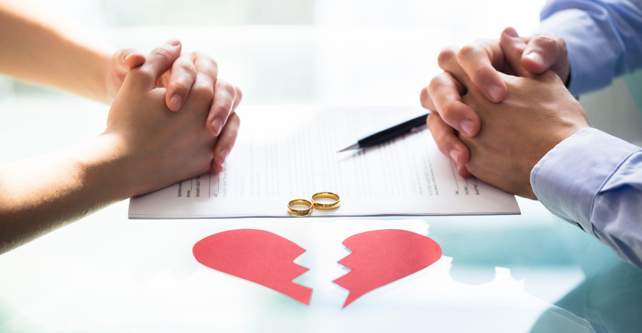 Τα στάδια του διαζυγίου