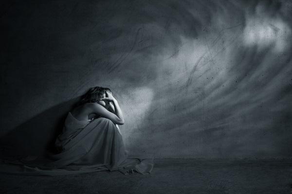 Γυναίκα με κατάθλιψη
