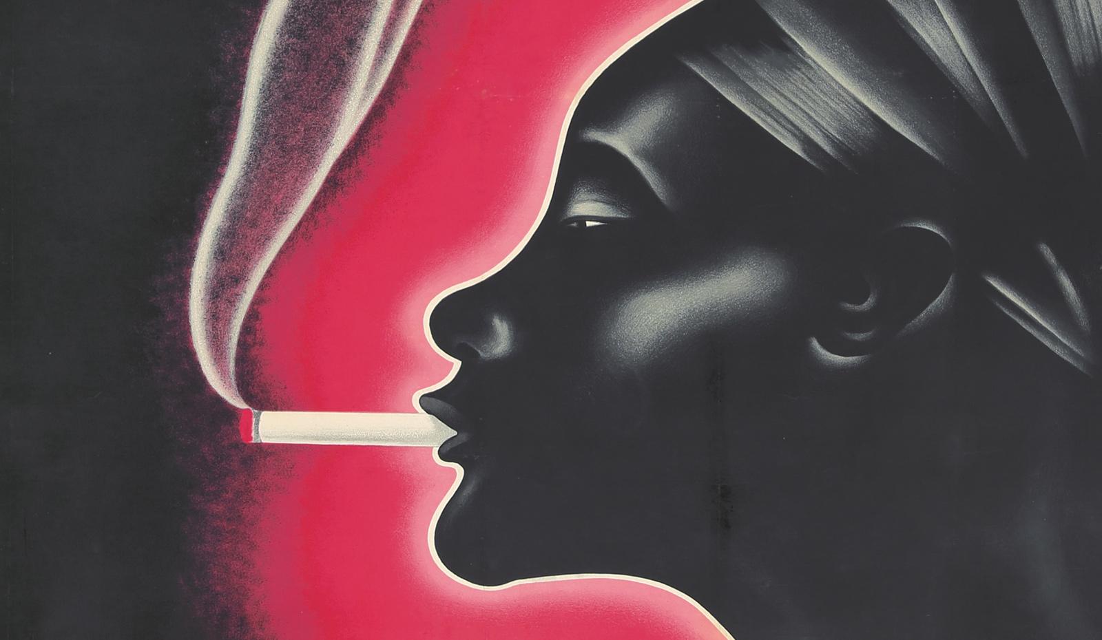 Κοπέλα που καπνίζει